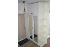 Шкаф белый прованс