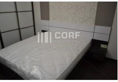 Мебель для спальни черная с белым
