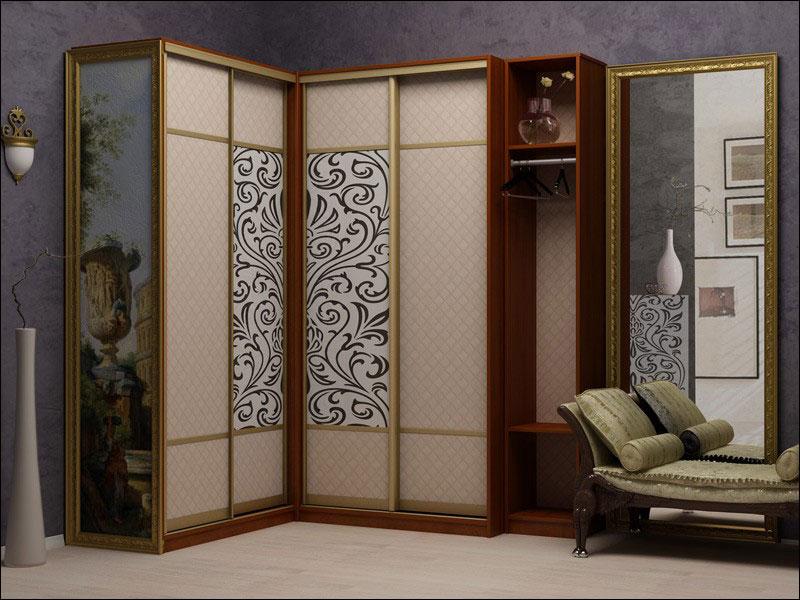 Шкафы-купе угловые фото дизайн